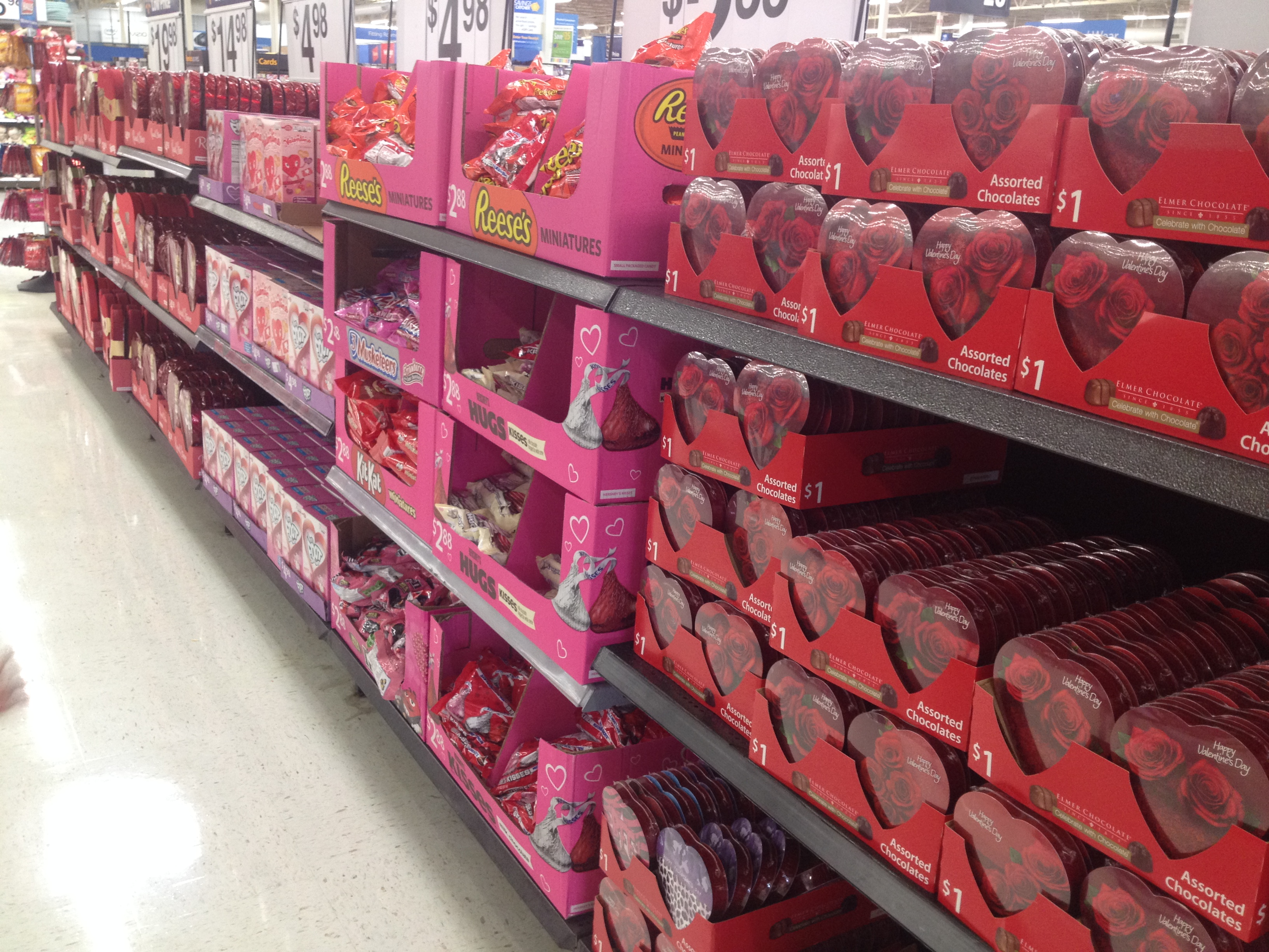 for valentine's day: a sweet-treats raffle, candy staff picks, Ideas