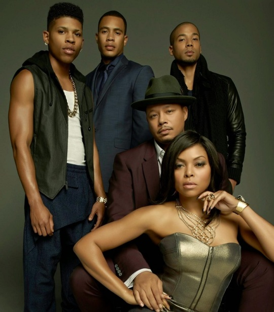 Image of TV's 'Empire' cast released by inflexwetrust.com.
