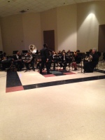 The Stillman Jazz Band performing at their spring concert